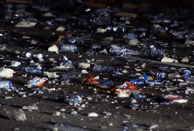 Image: Interstate 95 Florida Chips Crash
