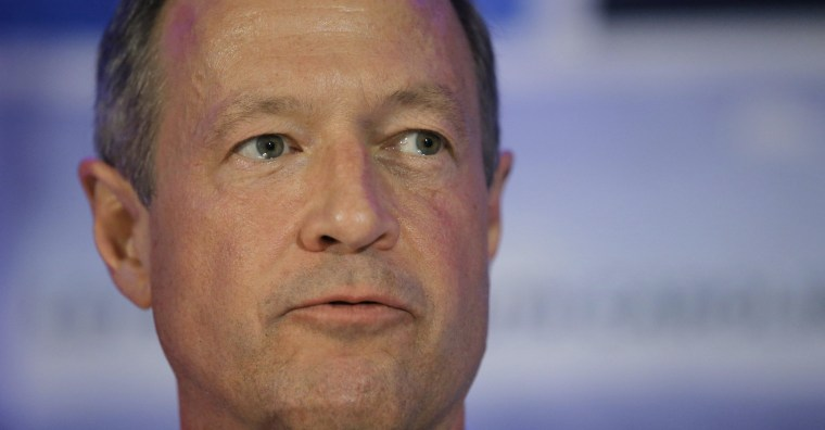 Image: File photo of Martin O'Malley during the First in the South Dinner in Charleston
