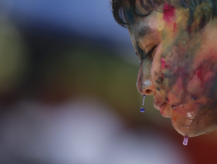 Image: Myanmar Holi festival in Yangon