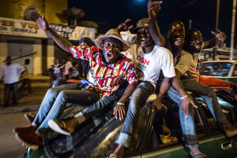 Image: TOPSHOT-CONGO-POLITICS-VOTE