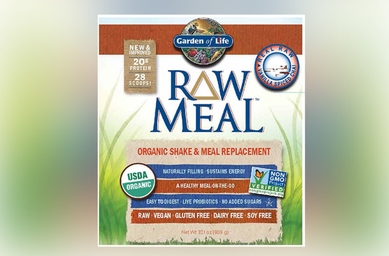 Image: Garden of Life Raw Meal Organic Shake