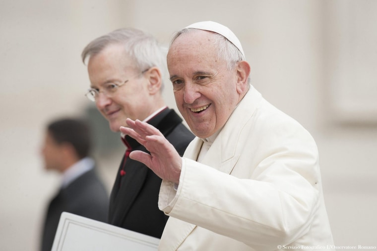 Image: Pope Francis general audience