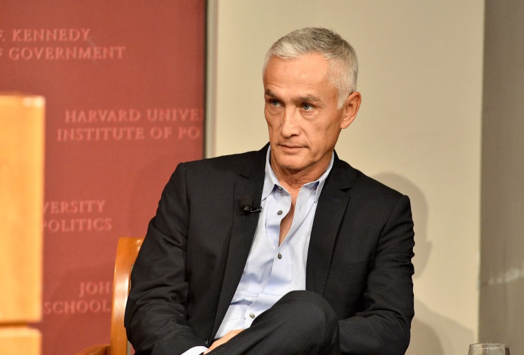 Journalist and author Jorge Ramos speaks at 'America 2050: The Future of News & Latinos' at the John F. Kennedy Junior Forum at Harvard University Kennedy School Institute of Politics on April 14, 2015 in Boston, Massachusetts.