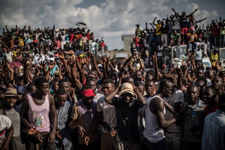 Image: TOPSHOT-CONGO-POLITICS-ELECTIONS