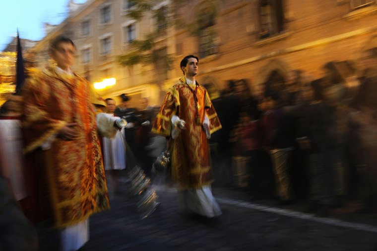 Image: SPAIN-RELIGON-HOLY-WEEK