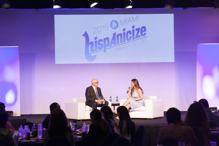 Hispanicize is the largest event in the U.S. for influential Latinos in media.