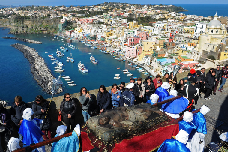 Image: ITALY-GOOD FRIDAY-PROCIDA