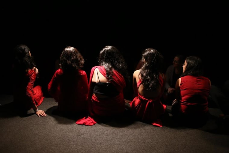 Yoni Ki Raat's performers are volunteers and are currently crowdfunding their 2016 run.