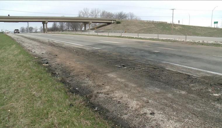 Image: fatal car crash in Des Moines