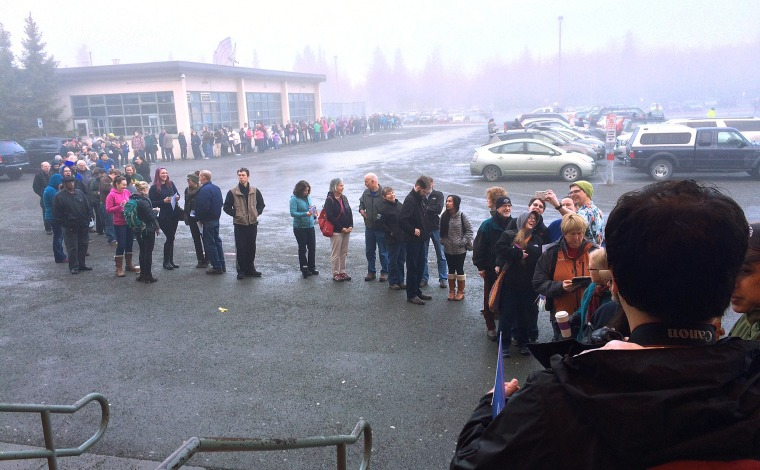 Image: Alaska Democratic caucus