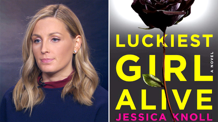 Jessica Knoll speaks to TODAY's Hoda Kotb about events that inspired her debut novel.