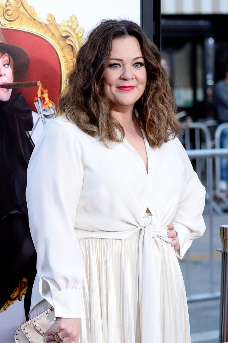"""Melissa McCarthy attends the premiere of USA Pictures' """"The Boss"""" at Regency Village Theatre on March 28, 2016 in Westwood, California."""