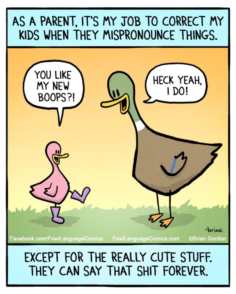 "A ""Fowl Language"" cartoon by Brian Gordon"
