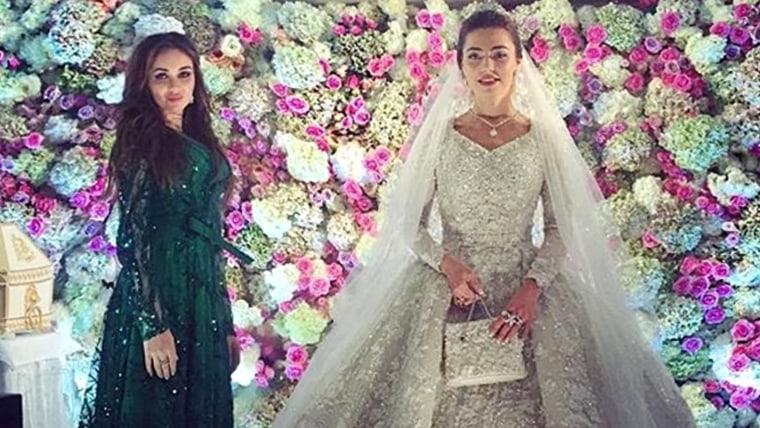 Couple throws a billion dollar wedding