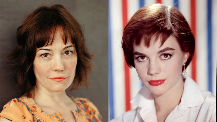 Natasha Gregson Wagner earlier this year, side-by-side with her mother, Natalie Wood.