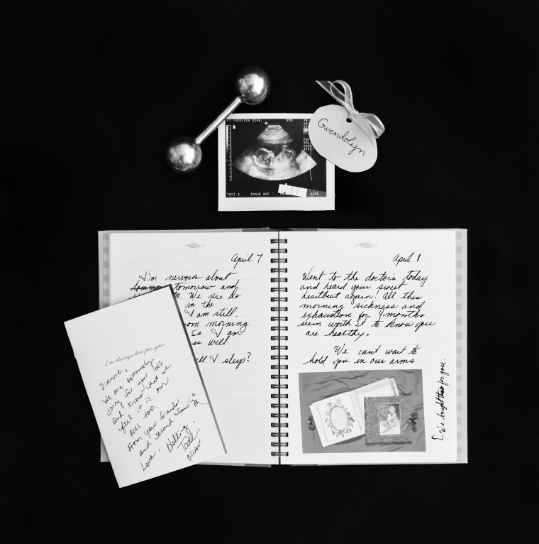 Photo project that highlights the pain of going through miscarriages.