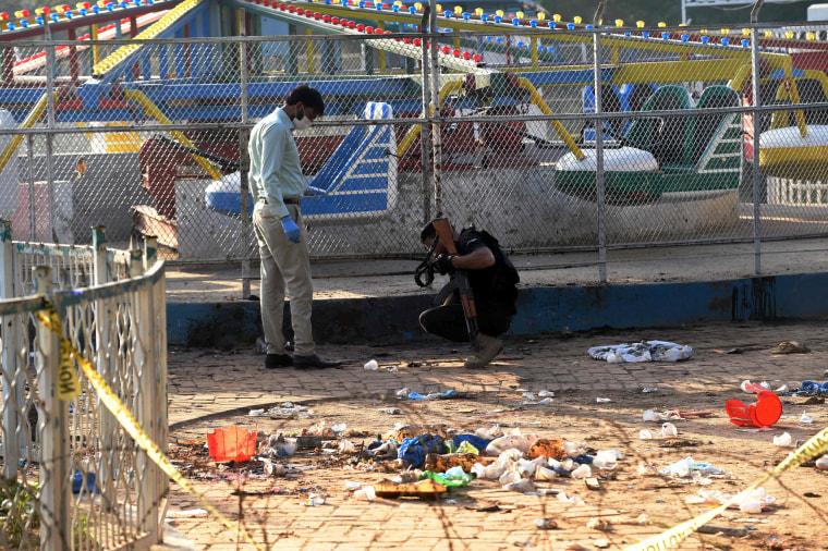 Image: PAKISTAN-UNREST-EXPLOSION