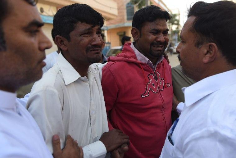 Image: PAKISTAN-UNREST-RELIGION