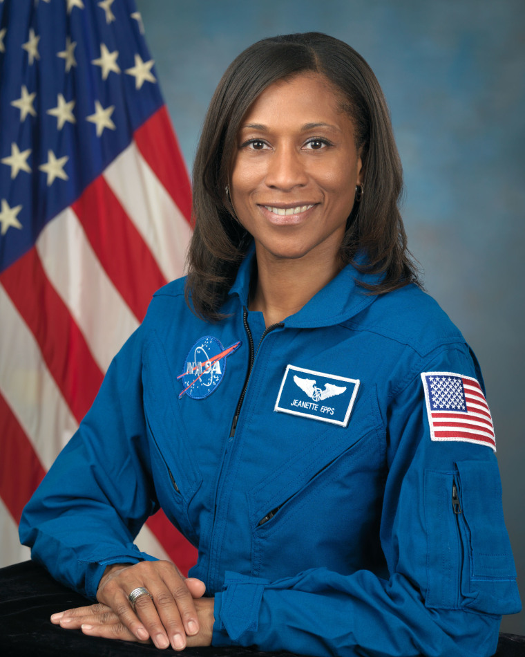 This official portrait of Jeanette Epps was taken on September 30, 2009. Epps said the seed of wanting to be an astronaut was planted when she was nine years old.