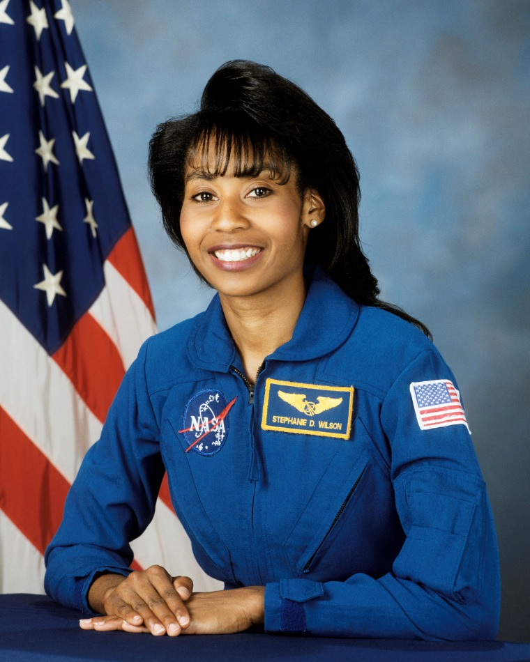 Astronaut Stephanie Wilson said she is the rule, not the exception, and she wants more people to know black female astronauts exist.