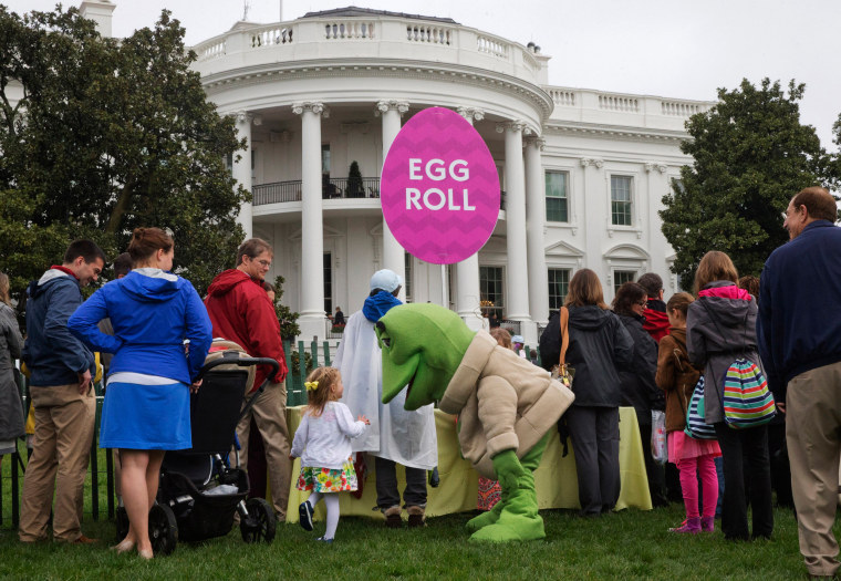 Image: White House Easter Roll