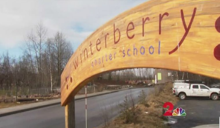 Image: Winterberry Charter School in Anchorage, Alaska