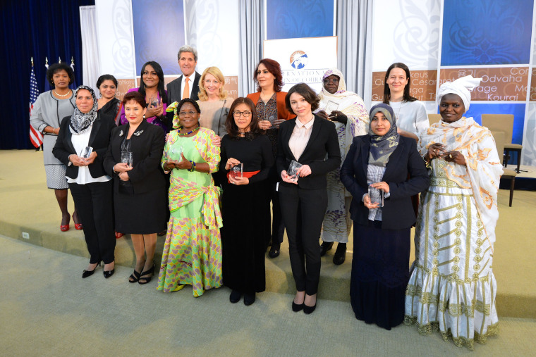 Image: John Kerry International Women of Courage Award