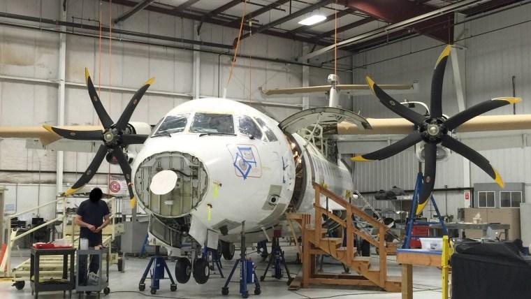 Image: advanced surveillance plane that cost 86 million