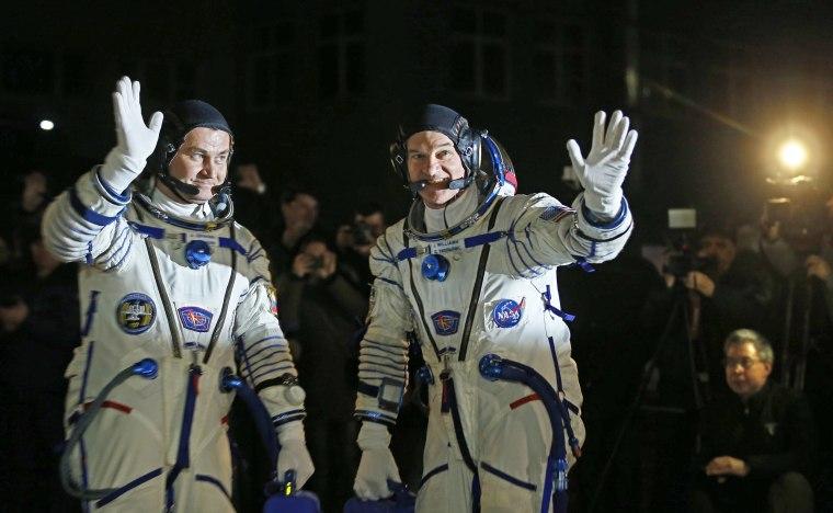 Image: The Soyuz TMA launch