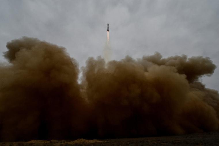 Image: KAZAKHSTAN-RUSSIA-ESA-SPACE-MARS