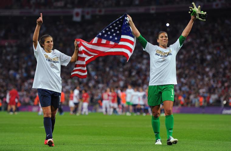 Image: Olympics Day 13 - Women's Football Final - Match 26 - USA v Japan