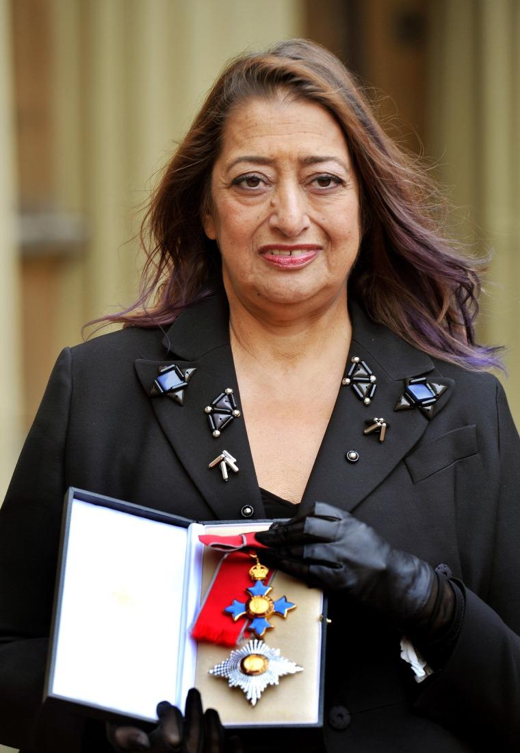 Image: (FILE) Dame Zaha Hadid Dies Aged 65