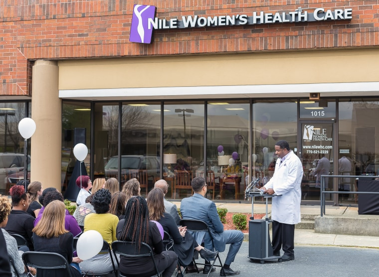 "The women's health clinic in the North Atlanta area known for the last decade as ""Isis Women's Health"" has changed its name to ""Nile Women's Health Clinic."""