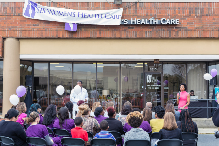 """The women's health clinic in the North Atlanta area known for the last decade as """"Isis Women's Health"""" has changed its name to """"Nile Women's Health Clinic."""""""