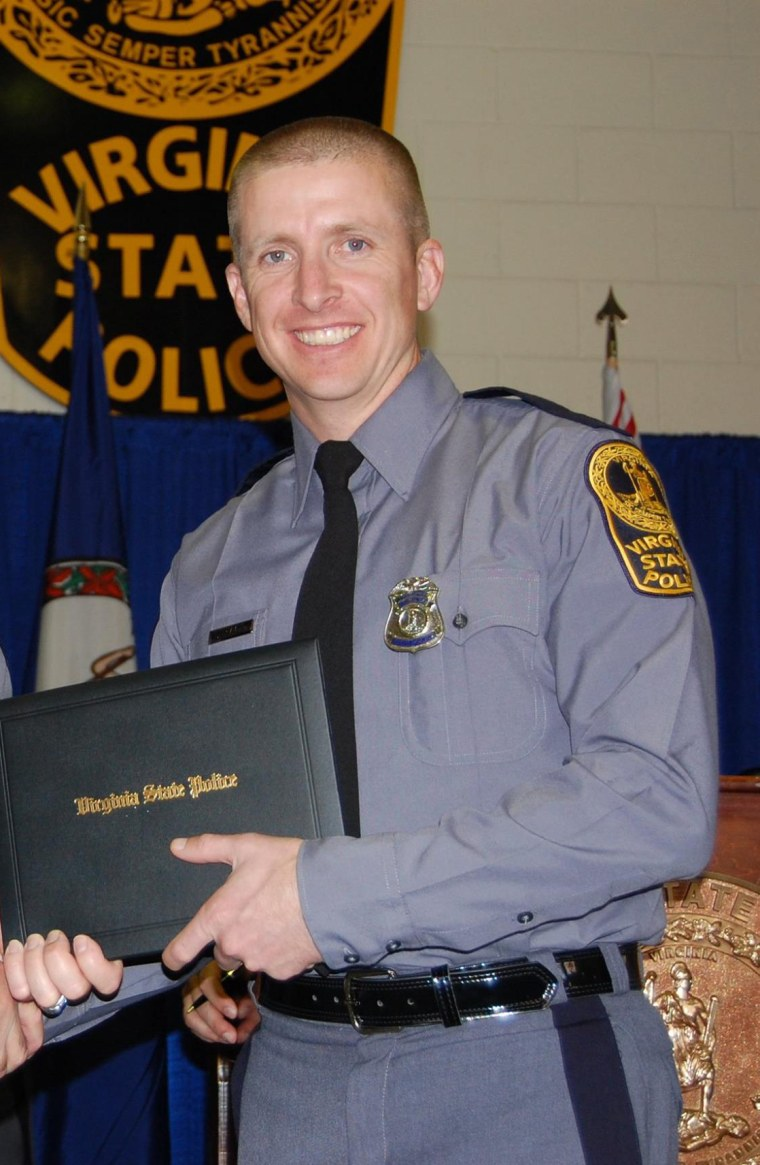 Image: Virginia State Trooper Chad P. Dermyer