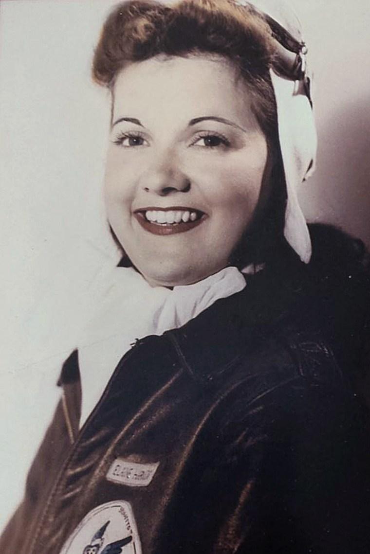 WWII pilot Elaine Harmon