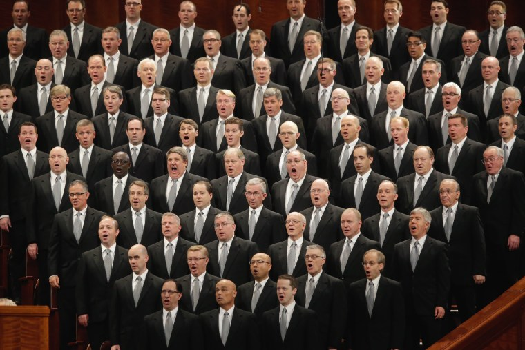 Image: Mormon church conference