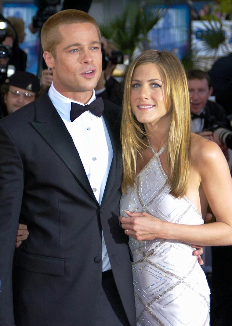 Image: Brad Pitt, Jennifer Aniston