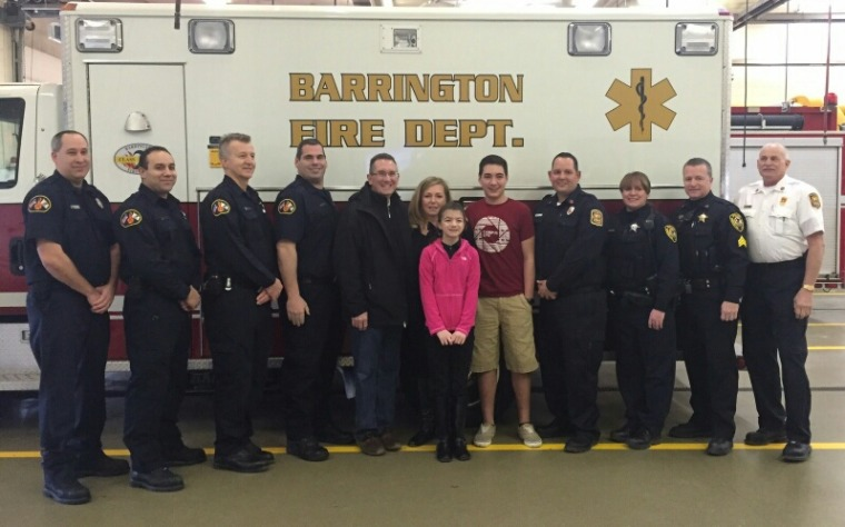 Teen saves dad with CPR