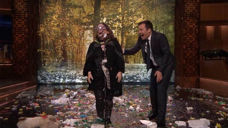 Melissa McCarthy, Jimmy Fallon lip sync battle