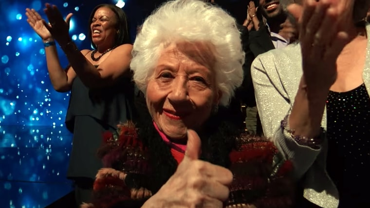 Charlotte Rae on Dancing With the Stars