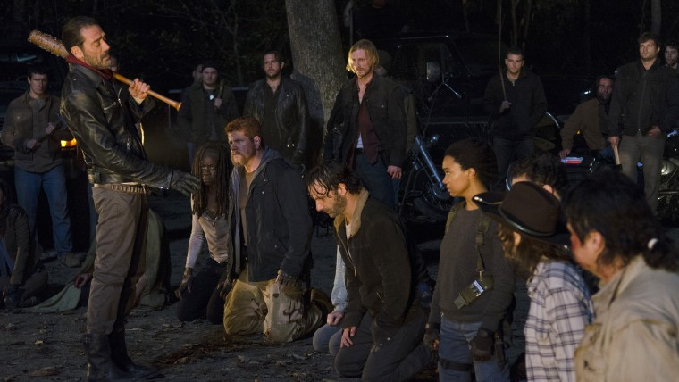 """Cast in Season 6 finale of """"The Walking Dead"""""""