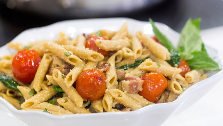 Shay Shull turns the classic BLT sandwich into a delicious pasta recipe
