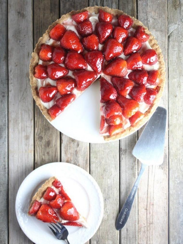 Strawberry mascarpone tart by TODAY Food Club member Holly Sander