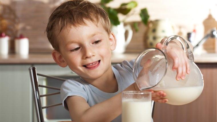 What kind of milk should I give my baby?