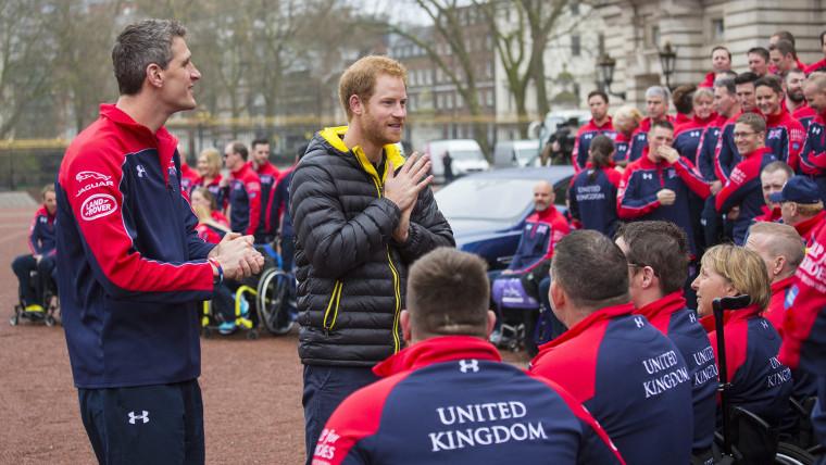 Image: British team unveiled for Invictus Games 2016
