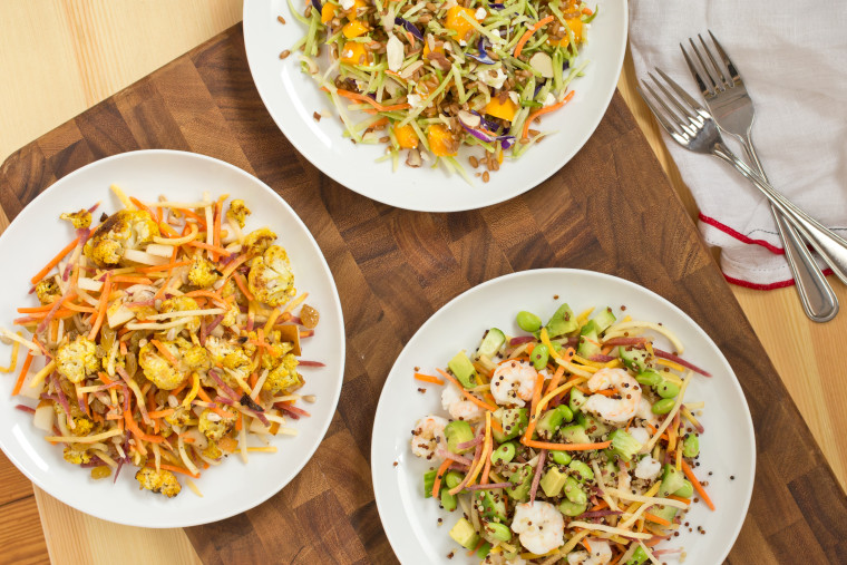Turn storebought slaw bags into delicious meals