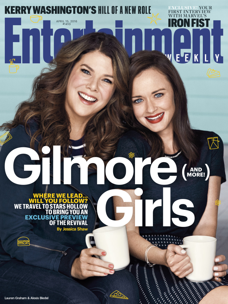 """Gilmore Girls"" Entertainment Weekly cover"