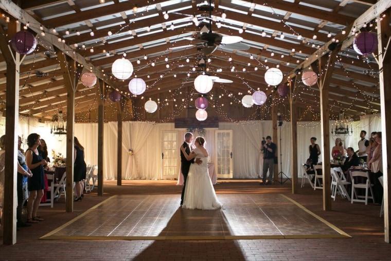Evelyn and Rocky Barlett, a formerly homeless couple, got their dream wedding