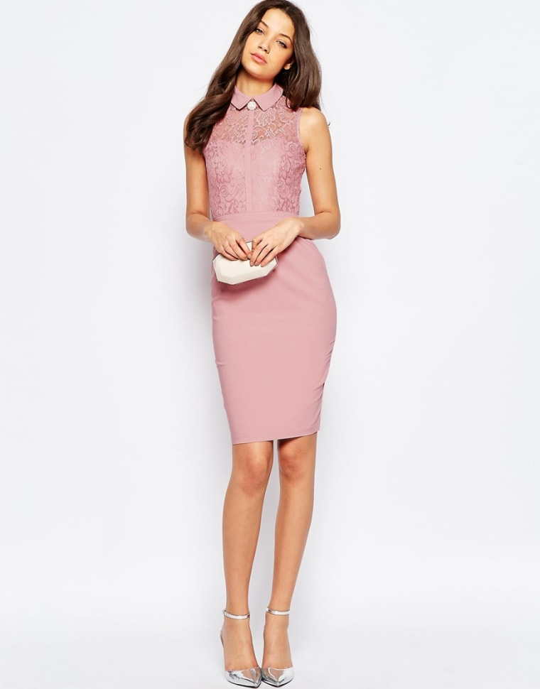 ASOS dress with collar